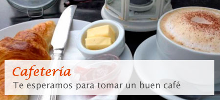 Cafetería - Te esepramos para tomar un buen café
